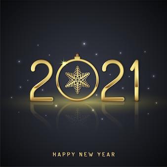 Feliz natal e feliz ano novo fundo de 2021