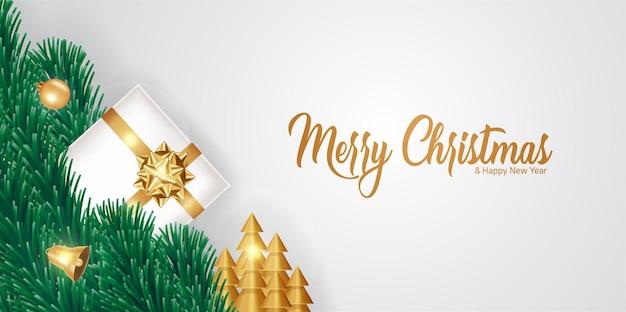 Feliz natal e feliz ano novo ilustração.