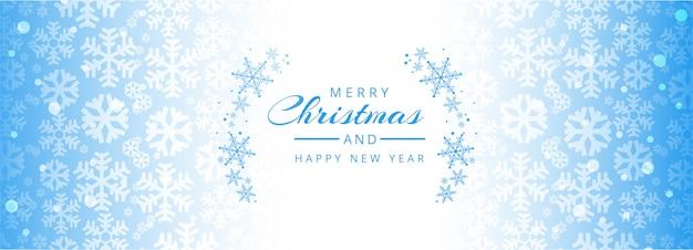 Feliz natal e feliz ano novo modelo de banner