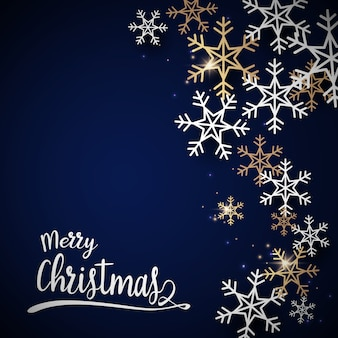 Feliz natal e feliz ano novo postal.