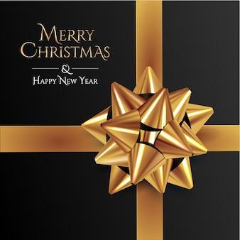 Feliz natal e feliz ano novo saudações