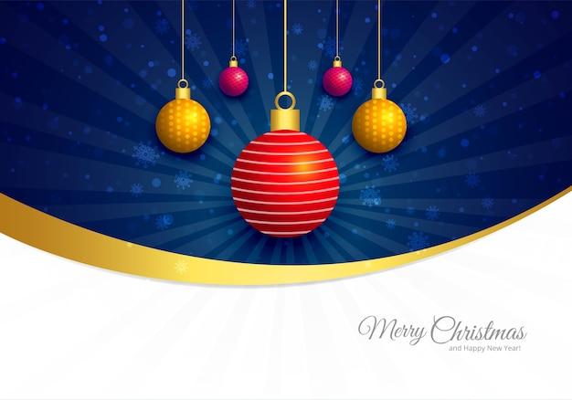 Feliz natal e saudações de ano novo