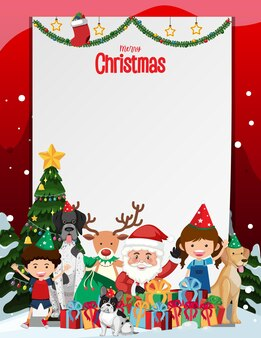 Feliz natal em branco
