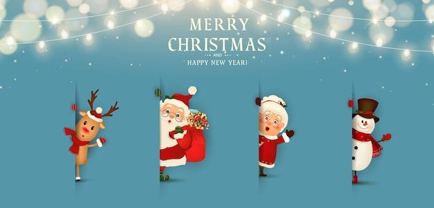 Feliz natal feliz ano novo engraçado papai noel