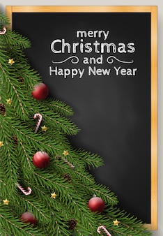 Feliz natal feliz ano novo fundo