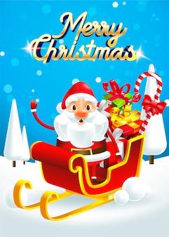 Feliz natal! feliz natal papai noel