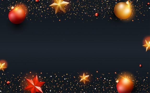 Feliz natal fundo para cartão de felicitações