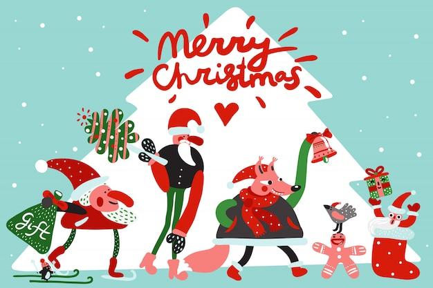 Feliz natal ilustração