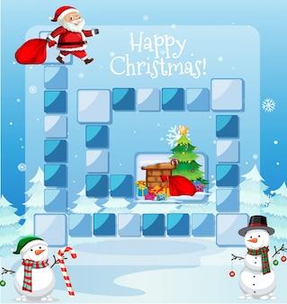 Feliz natal, jogo, modelo