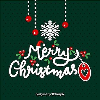 Feliz natal letras fundo