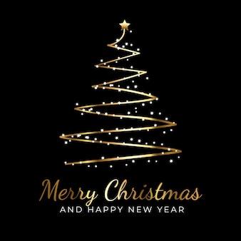 Feliz natal ouro negro