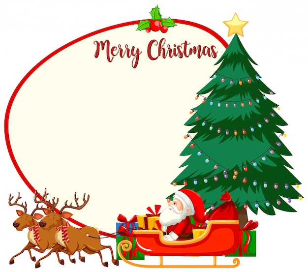 Feliz natal, quadro, conceito