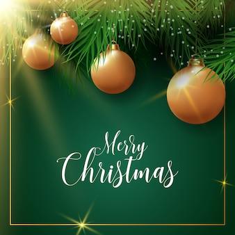 Feliz natal vector background