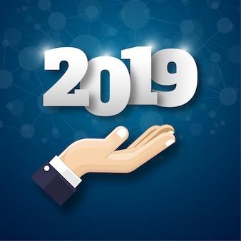 Feliz novo ano de 2019.