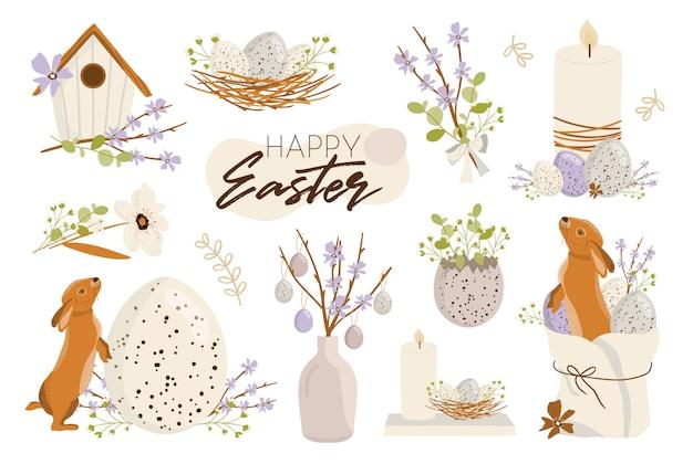 Feliz páscoa ilustração