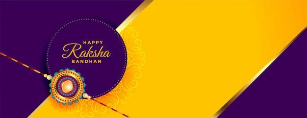 Feliz raksha bandhan deseja cartão festival
