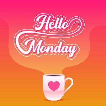 Feliz segunda-feira - fundo