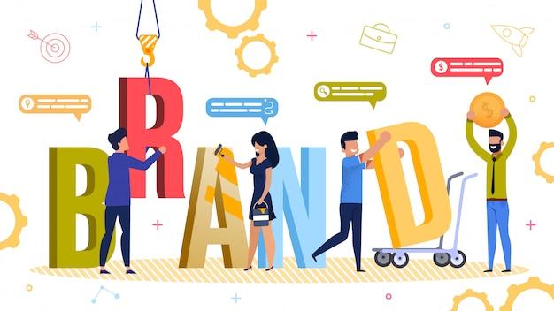 Ferramenta de desenvolvimento de marca e auxiliar, recurso