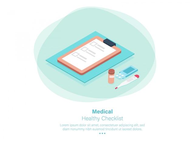 Ferramenta de embalagem de medicamentos isométrica