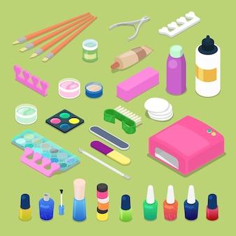 Ferramentas de manicure e pedicure