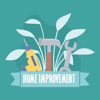 Ferramentas de melhoramento da casa