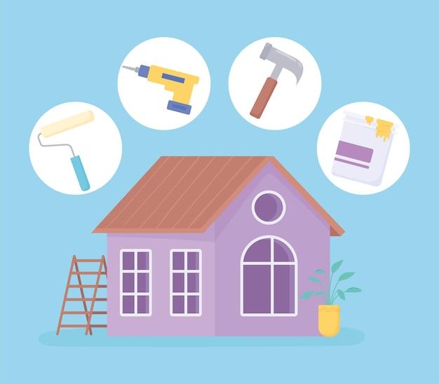 Ferramentas de melhoria doméstica