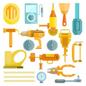 Ferramentas mecânicas e de construção