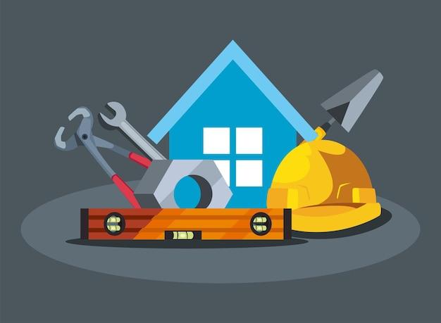 Ferramentas para reforma e construção de casas
