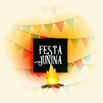 Festa americana junina holiday vector background