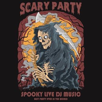Festa assustadora