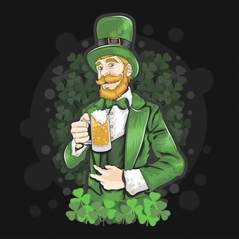 Festa da cerveja do dia de st patrick