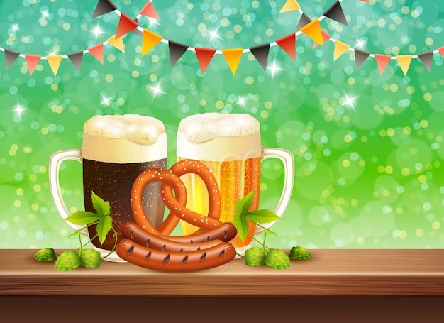 Festa da cerveja realista