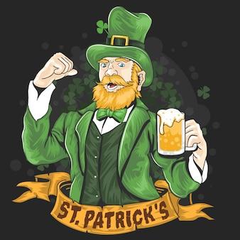 Festa de cerveja do dia de st.patrick