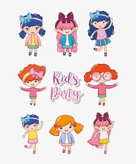 Festa de crianças meninas