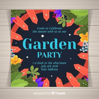Festa de jardim