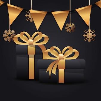 Festa de natal feliz