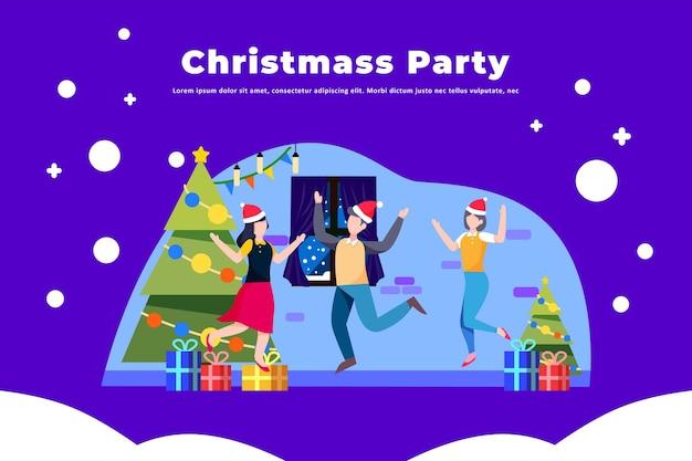 Festa de natal - ilustração de natal