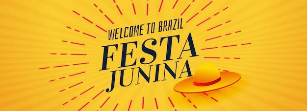 Festa junina brasil festival design