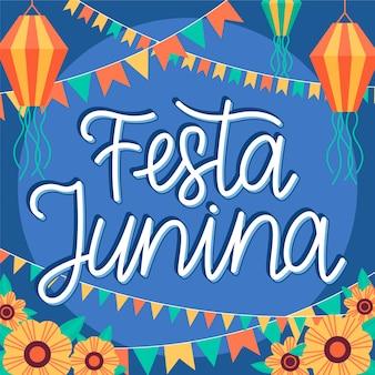 Festa junina celebração evento