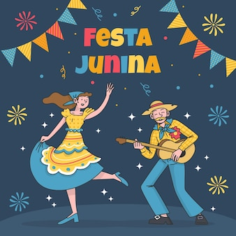 Festa junina celebration