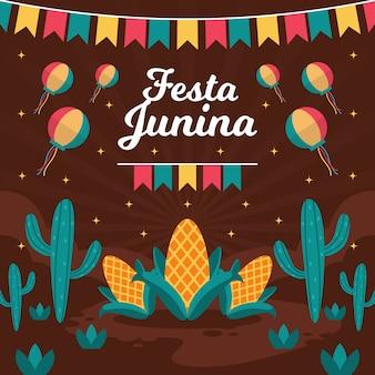 Festa junina dia da celebração