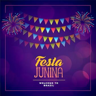 Festa junina evento celebração feriado