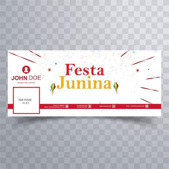 Festa junina facebook banner