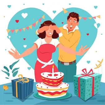 Festa surpresa de aniversário