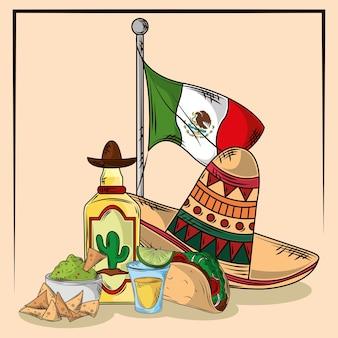 Festa tradicional do cinco de mayo