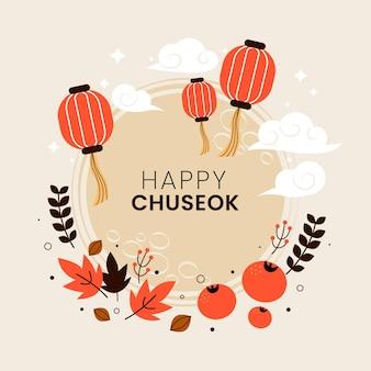 Festival chuseok ilustrado