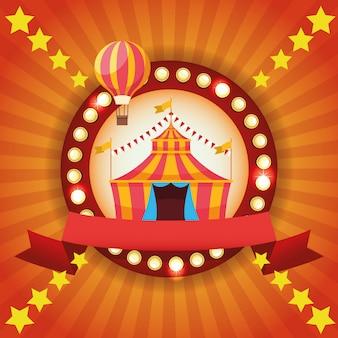 Festival da feira de circo