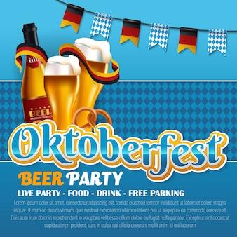 Festival de cerveja de oktoberfest