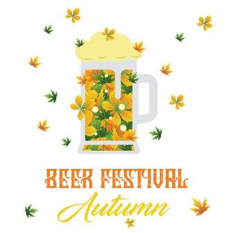 Festival de cerveja outono