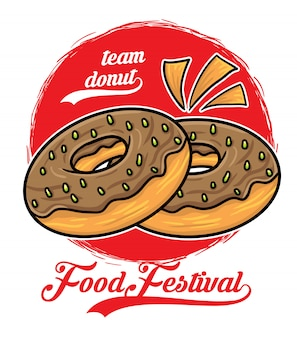 Festival de comida de rosquinha